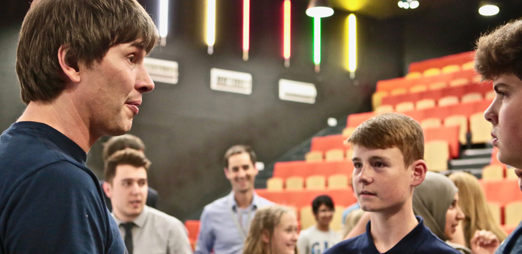 Brian Cox to inspire Rotherham's young people with Well Rotherham