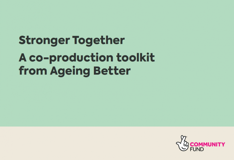 Stronger Together: A Co-production Toolkit